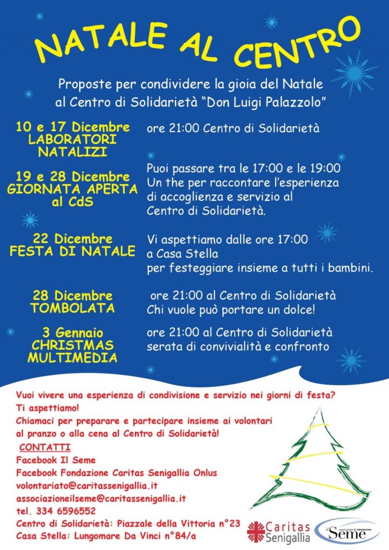 Natale al Centro di Solidarietà