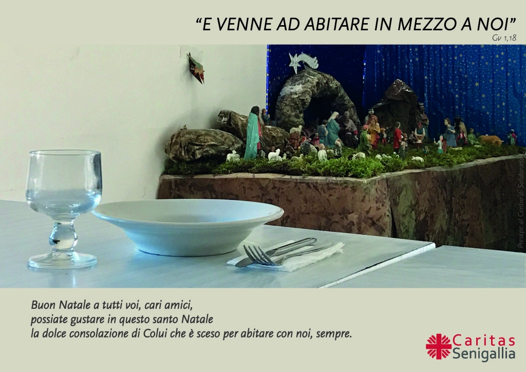 Auguri di buone feste da Caritas Senigallia