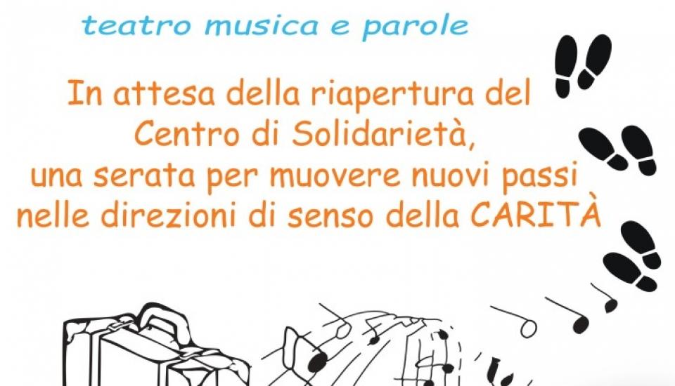 Ri-partiamo dalla solidarietà – teatro, musica e parole