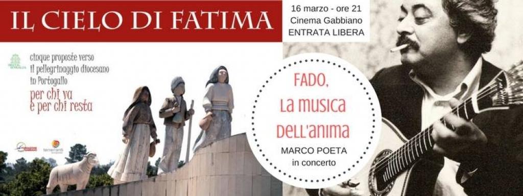 IL CIELO di FATIMA – prima iniziativa con la musica del fado portoghese