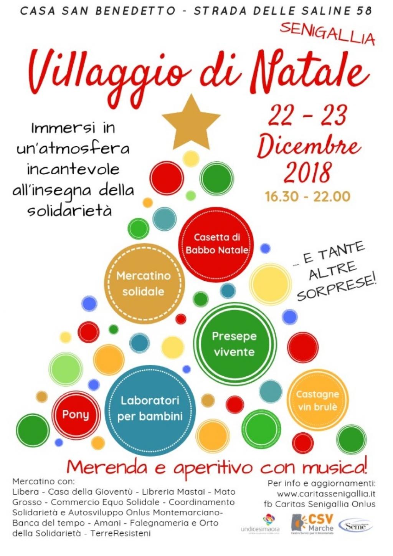 Villaggio di Natale rimandato al 22 e 23 dicembre